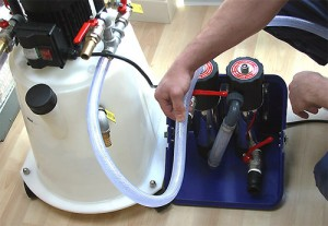 powerflush-in-action